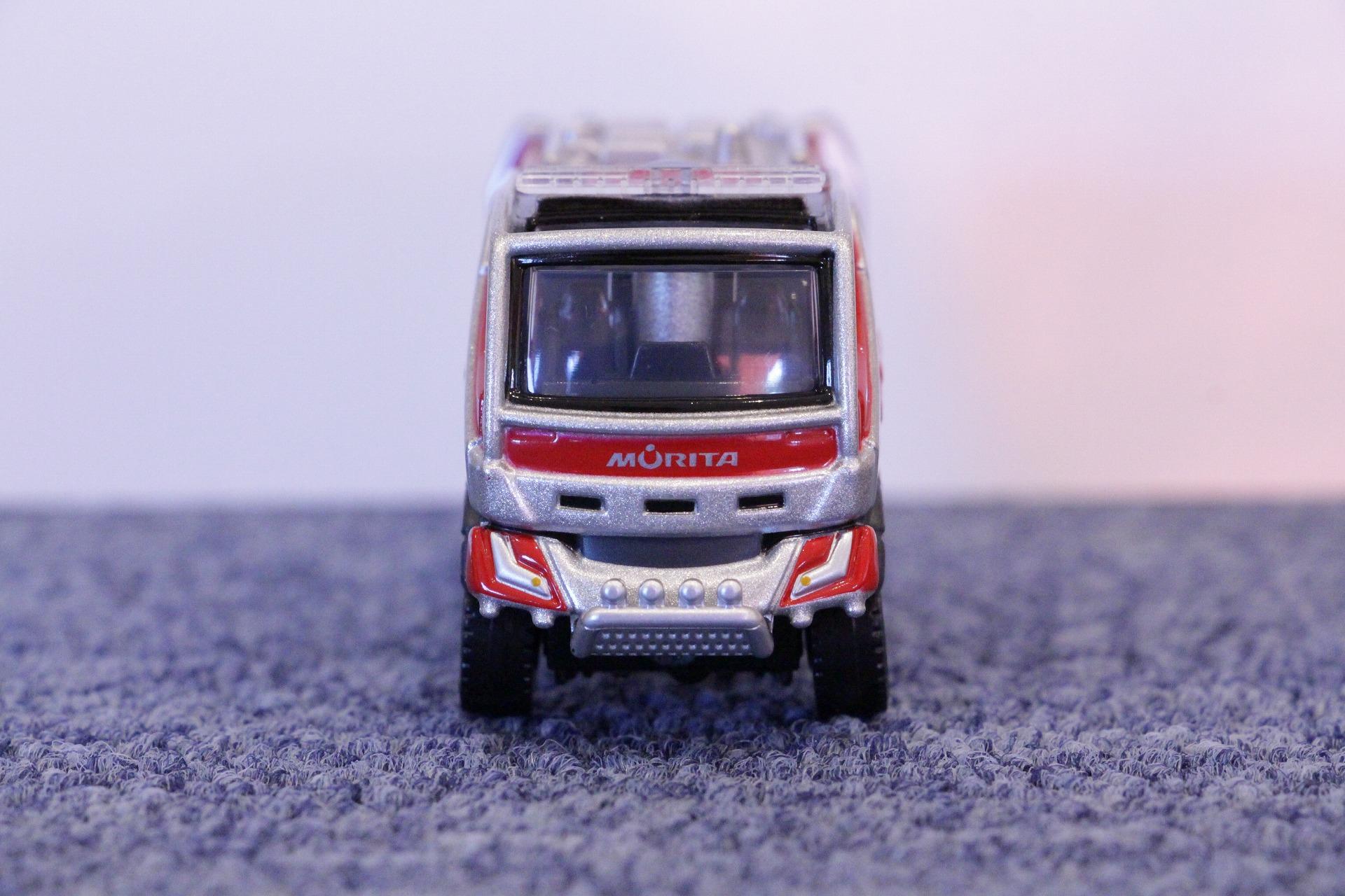 トミカプレミアム No.02 モリタ 林野火災用消防車