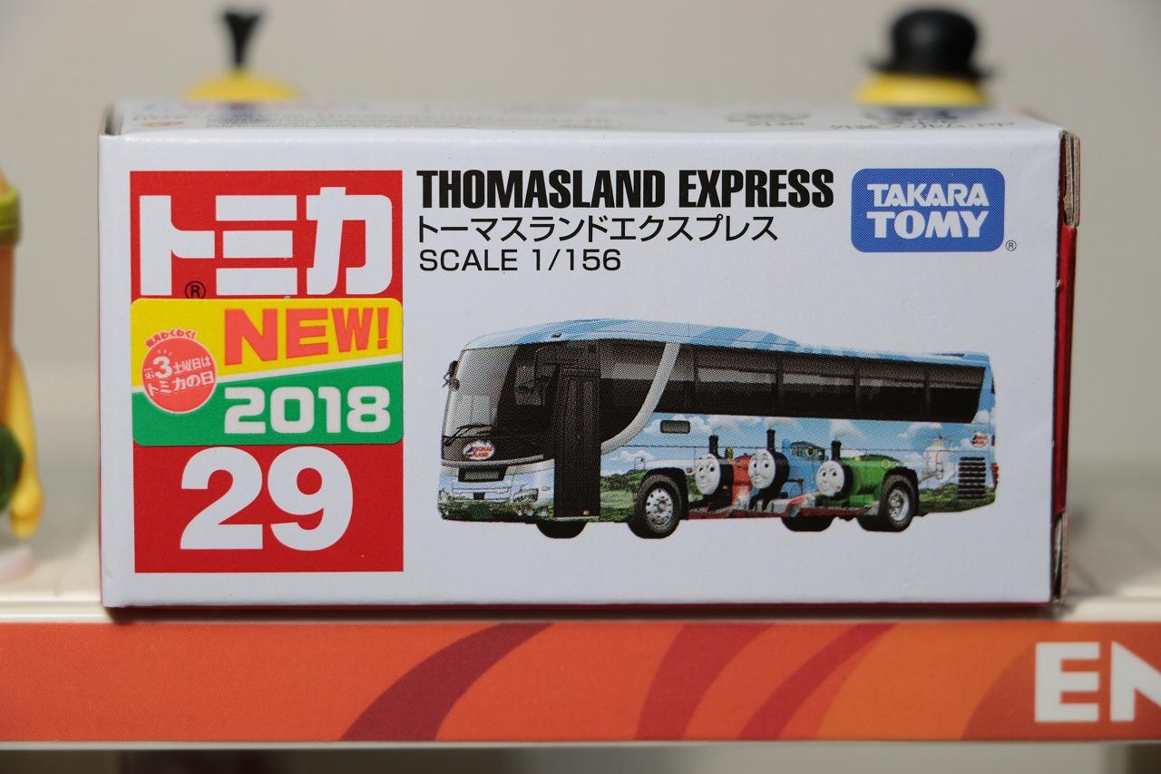 タカラトミー トミカ No.29 トーマスランドエクスプレス Takara Tommy Tomica No.29 Thomas Land Express